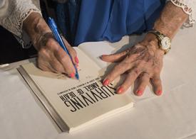 Eva Mozes Kor book signing
