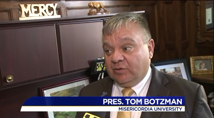 University President Tom Botzman interview